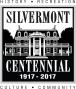 SilvermontCentennialLogoB&W